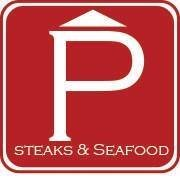 Porterhouse steaks and seafood
