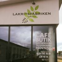 Lakritsfabriken Butik, Showroom & Provning