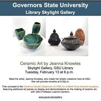 Visual Arts Gallery, Governors State University