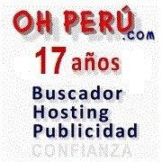 OHPERU.COM Directorio Web. Hosting Dominios Publicidad en Internet