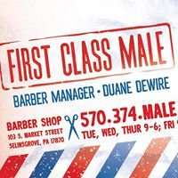 FIRST CLASS MALE - Barber Shop