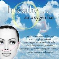 Breathe...oxygen bar