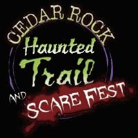 Cedar Rock Haunted Trail