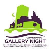 Cedar Rapids Art Gallery Night