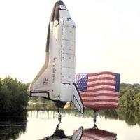 US Flag Balloon, Space Shuttle Balloon, & Flighthouse Balloon