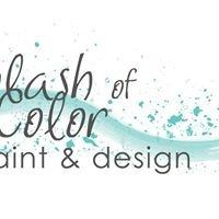 Splash of Color Paint and Design