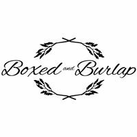 Boxed and Burlap