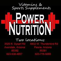 Power Nutrition - Peoria, AZ Vitamin & Sports supplement store