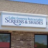 Lake Geneva Retractable Screens & Shades