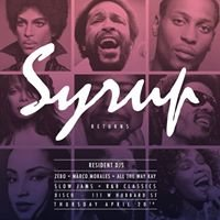 Syrup: Slow Jams and Classic R&B Dance Party
