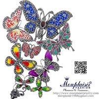 Marcasite Silver Jewelry by Monplaisir Fashion Thailand