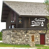Historic Island Dairy on Washington Island