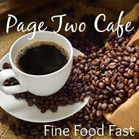Page Two Cafe