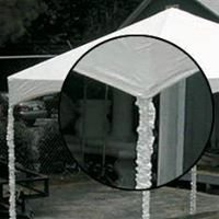 Elegants Disposable Tent Pole Covers