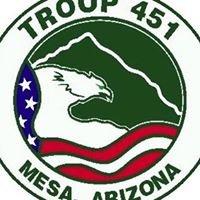 BSA Troop 451, Mesa AZ