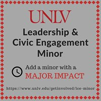 UNLV Leadership and Civic Engagement Minor
