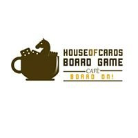 House of Cards Board Game Café