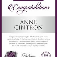 Anne Cintron, Realtor Berkshire Hathaway HomeServices Georgia Properties