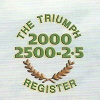Triumph 2000 / 2500 / 2.5 Register