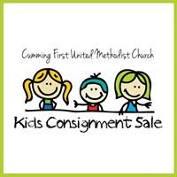 Cumming First United Methodist Church Kids Consignment Sale