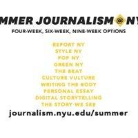Summer Journalism at NYU