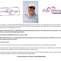 Charities of Hope and Hope Boutique