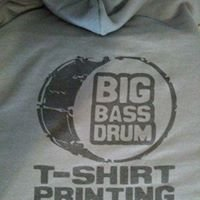 Big Bass Drum Screen Printing