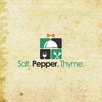 Salt. Pepper. Thyme