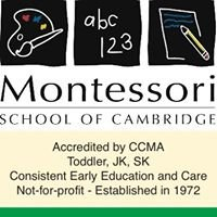 Montessori School of Cambridge, Cambridge, ON