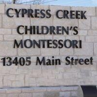Cypress Creek Childrens Montessori School