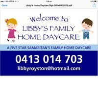 Libby's Family Home Daycare