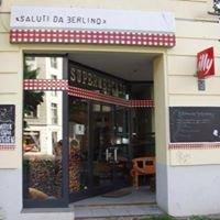 Saluti da Berlino Italienisches Café und Supermarkt