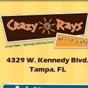 Crazy Rays Deli | Tampa FL