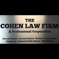 THE COHEN LAW FIRM, A Professional Organization
