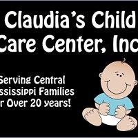 Claudia's Child Care Center, Inc.