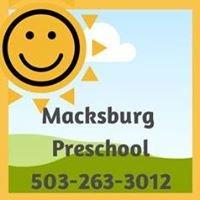 Macksburg Preschool