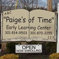 """Paige's of Time"" Early Learning Center"