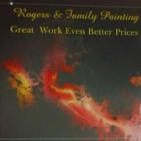 Rogers & family painting