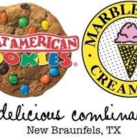Marble Slab Creamery/ Great American Cookie New Braunfels, TX