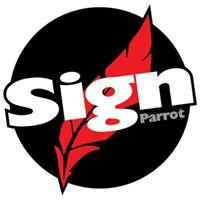 Sign Parrot
