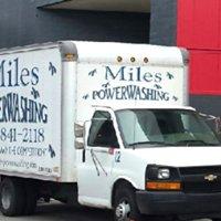 Miles powerwashing