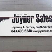 Joyner Sales
