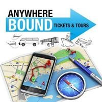 Anywhere Bound Tickets & Tours