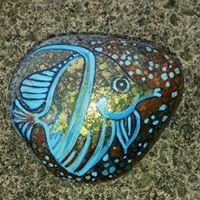 Pebble Art by Alexandra James Gabb