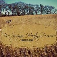 Five Springs Hunting Preserve