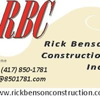 Rick Benson Construction