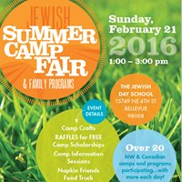 Jewish Summer Camp Fair & Family Programs