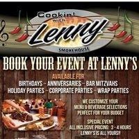 Cookin with Lenny's Smokehouse
