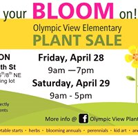 Olympic View Plant Sale