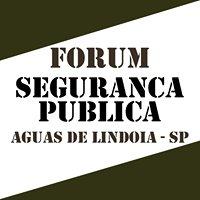 Fórum da Segurança Publica de Águas de Lindoia
